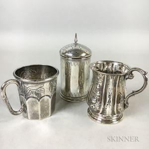Three Pieces of Silver Tableware