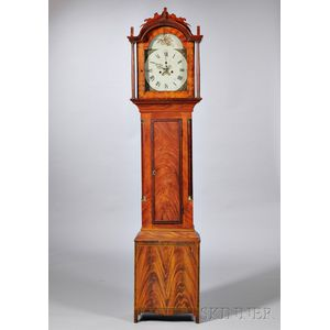 New Hampshire Grain-painted Tall Clock