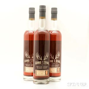 Buffalo Trace Antique Collection George T Stagg, 3 750ml bottles