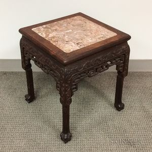 Small Marble-top Stand