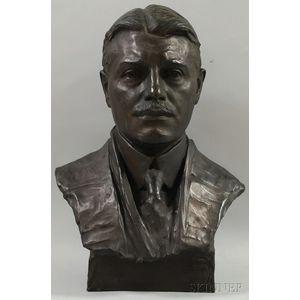 Charles Keck (American, 1875-1951)      Portrait Bust