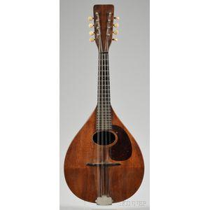 American Mandolin, C.F. Martin & Company, Nazareth, 1921, Style AK