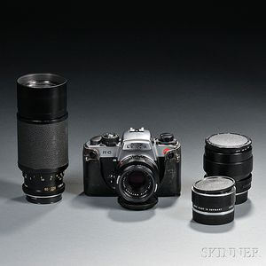 Leica R6 Body and Four Leitz Lenses