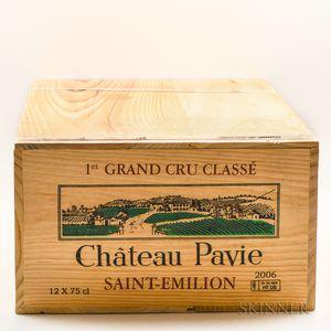 Chateau Pavie 2006, 12 bottles (owc)
