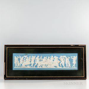 Wedgwood Solid Light Blue Jasper Plaque