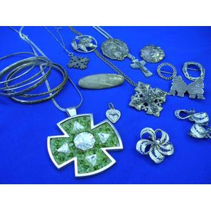 Group of Silver Jewelry.
