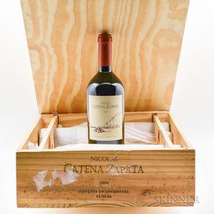 Catena Zapata Nicolas Catena Zapata Cabernet Sauvignon 2004, 5 bottles