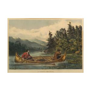Currier & Ives, publishers (American, 1857-1907)  A GOOD CHANCE