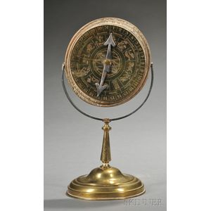 Brass Zodiac Calendar