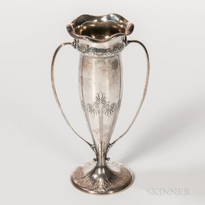 Tiffany & Co. Sterling Silver Two-handled Vase
