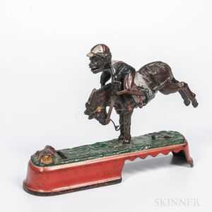 "Cast Iron ""Always did Spise a Mule"" Mechanical Bank"