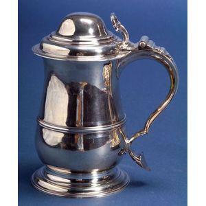 Early George III Silver Tankard
