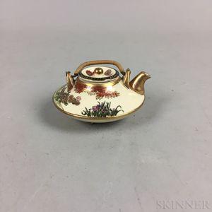 Small Satsuma Teapot
