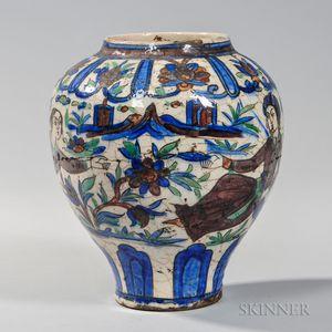 Glazed Pottery Vase