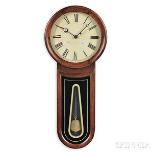 Williams & Hatch Keyhole Regulator Timepiece