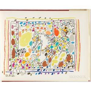 Picasso, Pablo (1881-1973) Toreros, with Four Original Lithographs.
