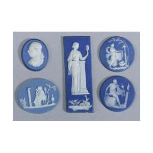 Fourteen Assorted Wedgwood-type Medallions