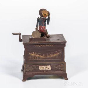 """Cast Iron Mechanical """"Organ Bank,"""""""
