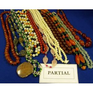 Large Assortment of Beaded Jewelry, and Costume Jewelry