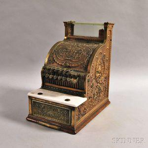 Brass and Glass National Cash Register.     Estimate $600-800
