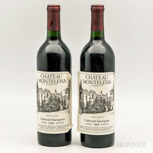 Chateau Montelena Cabernet Sauvignon 1984, 2 bottles