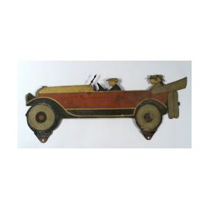 Painted Sheet Iron Automobile Sign