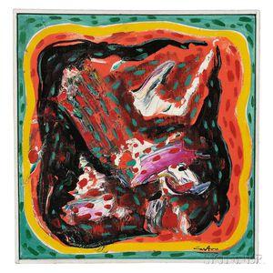 Norman Carton (American, 1908-1980)    Flamenco XII Malaguñas