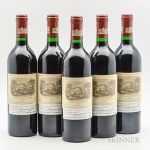Chateau Lafite Rothschild 1986, 5 bottles