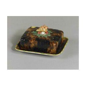 English Majolica Sardine Dish