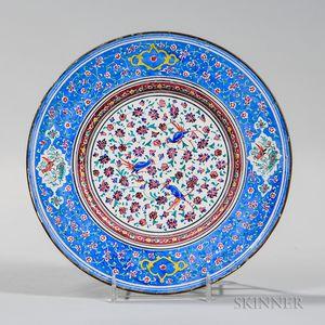 Enameled Metal Dish
