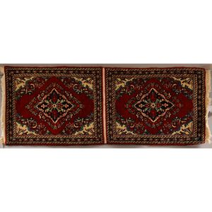 Pair of Sarouk Mats