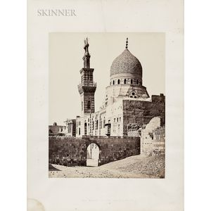 Francis Frith (British, 1822-1898)      The Mosque of the Emeer Akhoor, Cairo