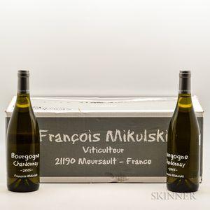 Mikulski Bourgogne Chardonnay 2015, 12 bottles (oc)
