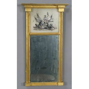 Federal Giltwood and Gesso Mirror