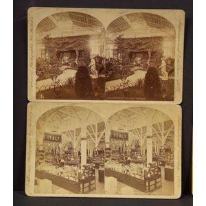 Stereoscopic Views of the Philadelphia International Exhibition 1876