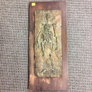 Norman Rubington (American, 1921-1991)      Bronze Figure   (Skeleton)