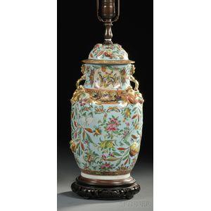 Chinese Porcelain Lamp Base