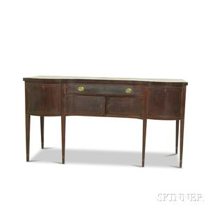 Federal Inlaid Mahogany Sideboard