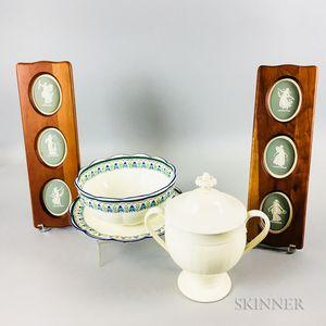 Nine Wedgwood Ceramic Items