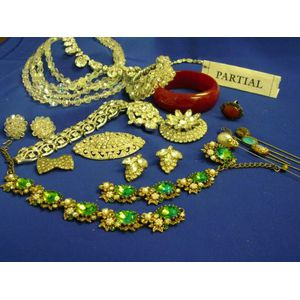 Small Group of Mid-Century Costume Jewelry.