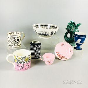 Eight Wedgwood Ceramic Items