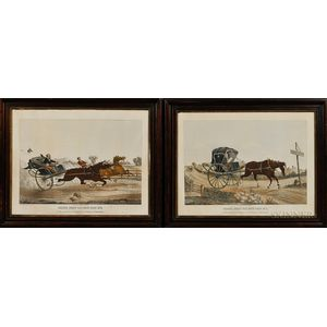 F.M. Haskell & Co., Lithographers (American, 19th Century)      Pair of Prints: Deacon Jones