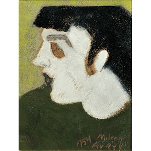 Milton Avery (American, 1885-1965)      Pale Profile