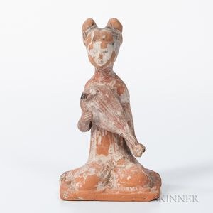Tomb Pottery Figure