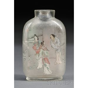 Interior-painted Snuff Bottle