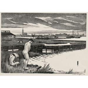 Mabel Dwight (American, 1876-1955)      Staten Island Shore