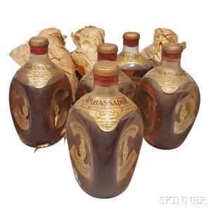 Ambassador Crystal Dimple, 8 bottles (3 w/oc)
