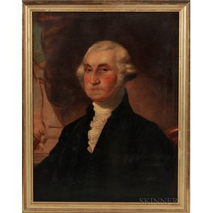 American School, 19th Century      Portrait of George Washington
