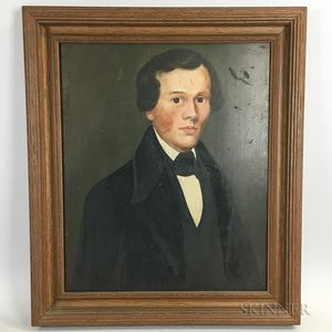 American School, 19th Century       Portrait of a Man