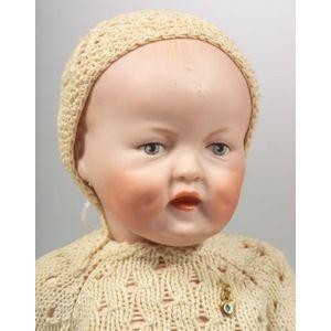 Catterfelder Puppenfabrik 201 Bisque Head Character Baby